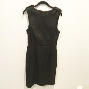 W118 by Walter Baker Black Sleeveless Dress